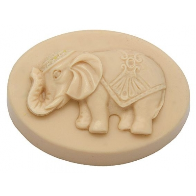 Molde pastilla de jabon Elefante buena suerte