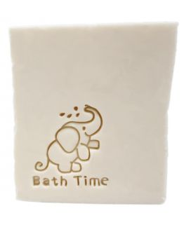 Sello elefante bath time