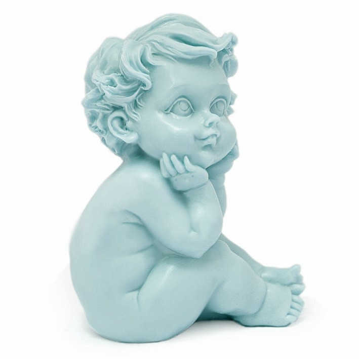 Molde artesanato bebe sorridente
