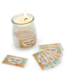 Adesivos para velas, Hand Made Candle.