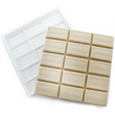 Molde tablete de pastilhas de sabonetes Hand Made