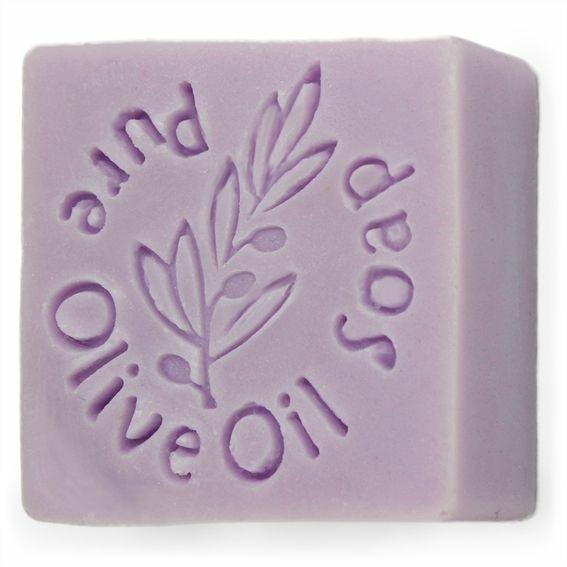 Sello para jabones pure olive oil soap