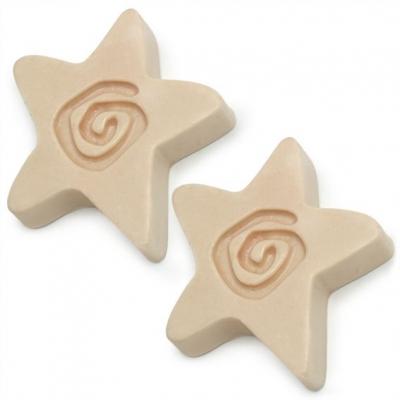 Molde para hacer 2 jabones estrellas con espiral
