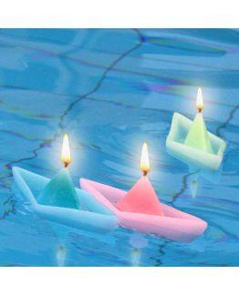 Molde para velas, Barquinho de Papel