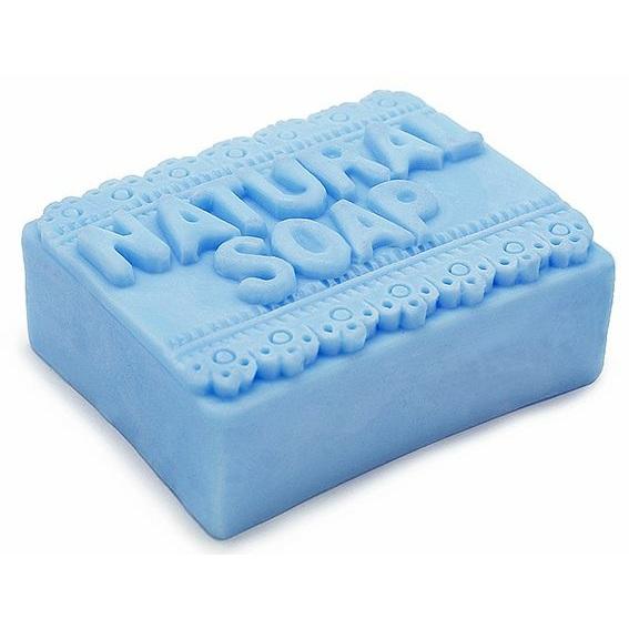 Molde pastilla jabon natural soap con puntilla
