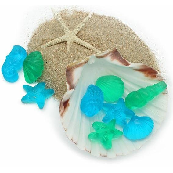 Kit como fazer sabonetes marinhos. Materiais e instruçoes
