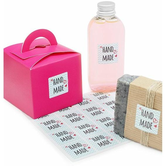 Etiquetas Packaging DIY, Hand Made Marine