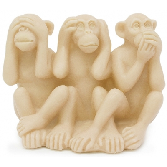 Molde 3 monos misticos
