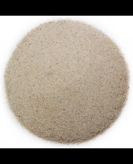 Arena de mar lavada de grano fino