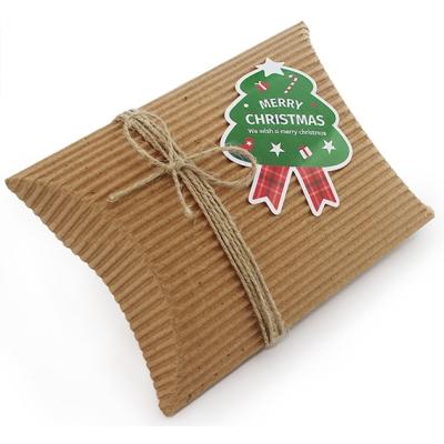 Etiqueta Packaging Natal, Abetos Grandes