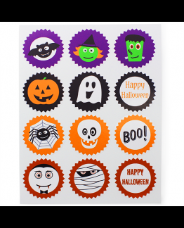 Pegatinas Halloween Packaging