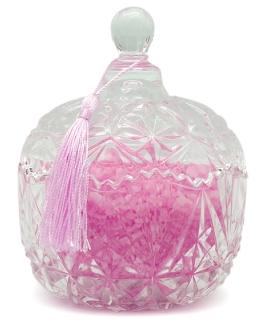 Tarro cristal vintage