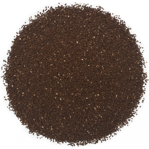 Particulas exfoliantes de cascara de coco