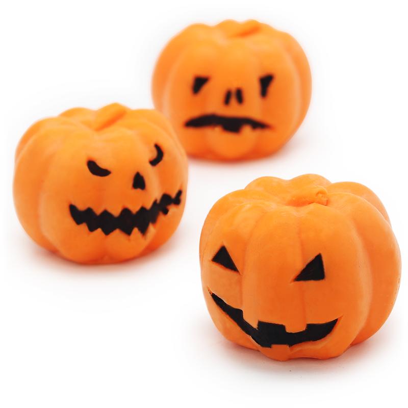 Kit como fazer sabonetes de abobora de halloween. Materiais e instruçoes