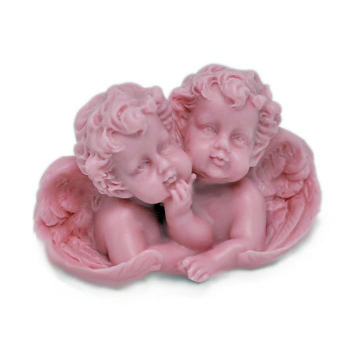 Molde para hacer jabon angeles gemelos