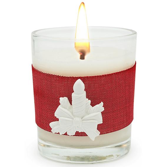 Picks de cerâmica para perfumar Vela de Natal.