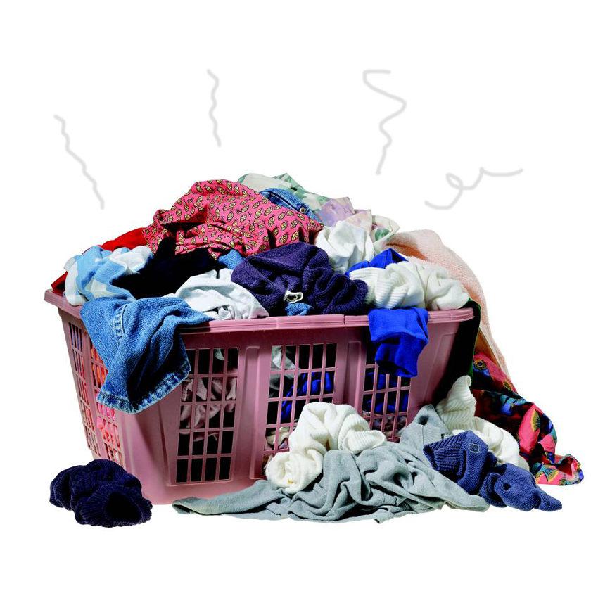 C mo limpiar ropa muy sucia for Limpiar mampara bano muy sucia