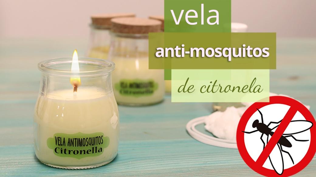 Aprende a hacer velas antimosquitos con citronela para for Velas anti mosquitos