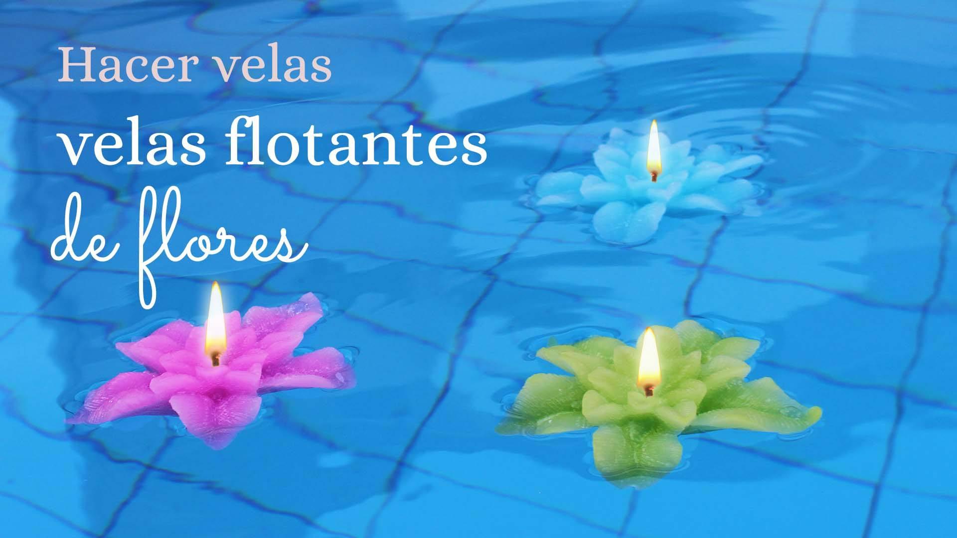 Aprende como hacer velas flotantes caseras con precioso - Como hacer velas flotantes ...