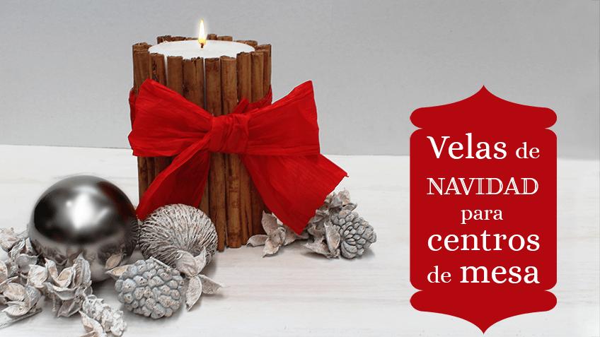 como hacer centros de de velas navidad ideal para decorar