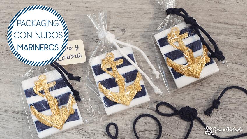 Hacer packaging para jab n estilo n utico - Nudos marineros decorativos ...