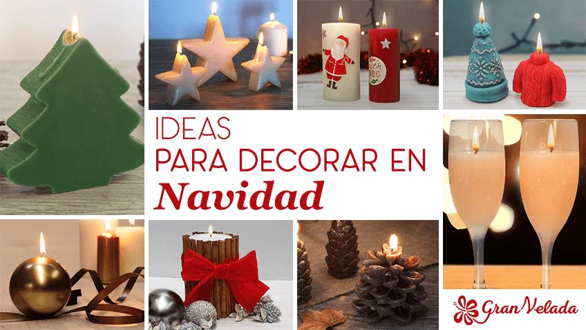 Sencillas ideas para decorar en navidad con gran velada - Ideas para decorar en navidad ...