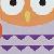 Naranja-lila-violeta